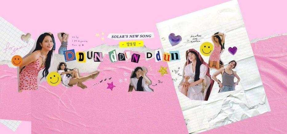 "MAMAMOO's Solar Reveals A Sweet Music Video For Her Track ""Ddun Ddun Ddun"""