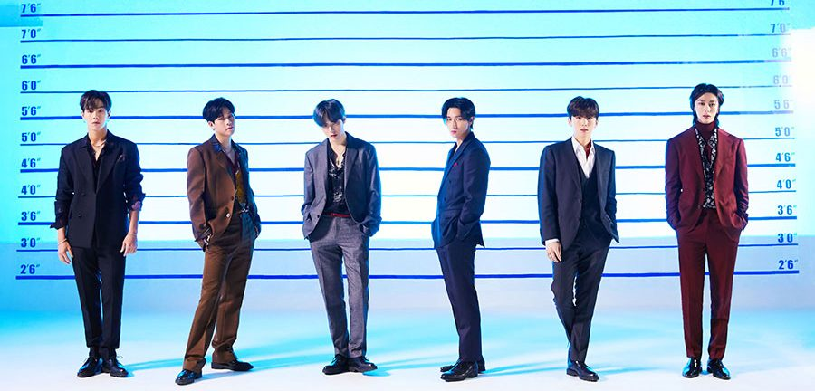 """MONSTA X To Release A Fiery New Japanese Single Titled """"WANTED"""""""