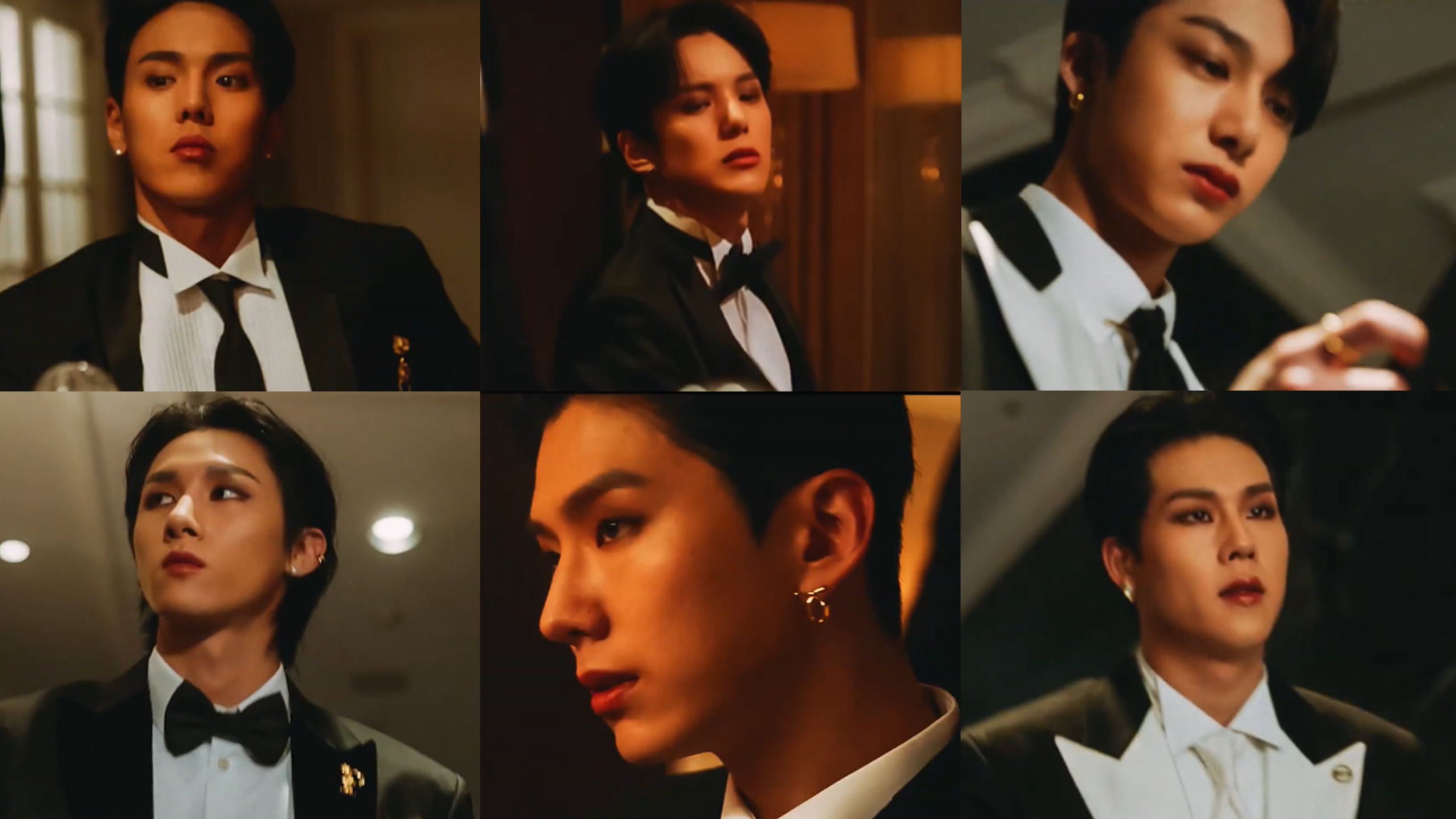 """MONSTA X Slays With Their Lavish Styles In The Second MV Teaser For """"GAMBLER"""""""