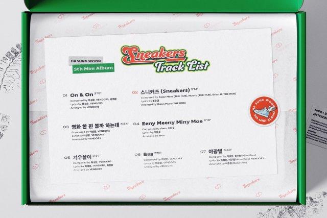 Ha Sung Woon_Track_List