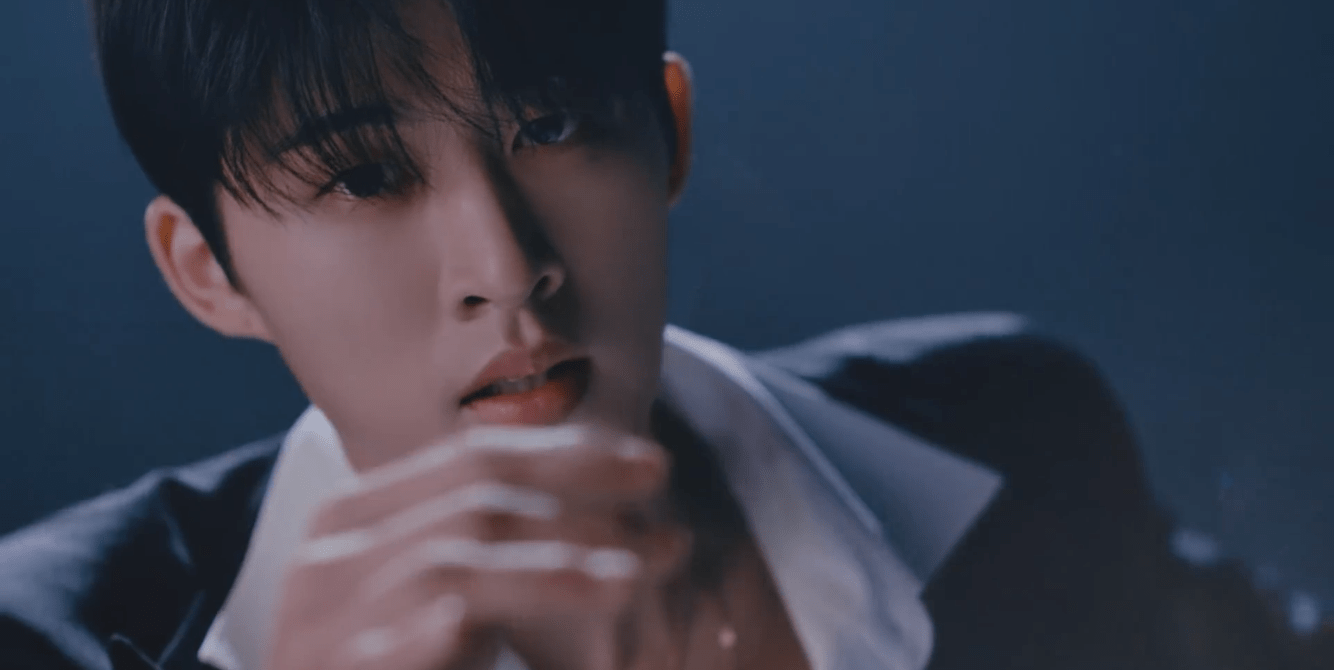 """B.I Captivates With A Cinematic """"WATERFALL"""" Intro Film"""