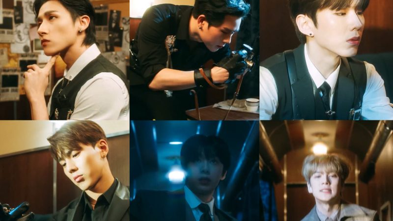 """MONSTA X Exhibits An Enigmatic Elegance In New """"Kiss Or Death"""" MV Teaser"""