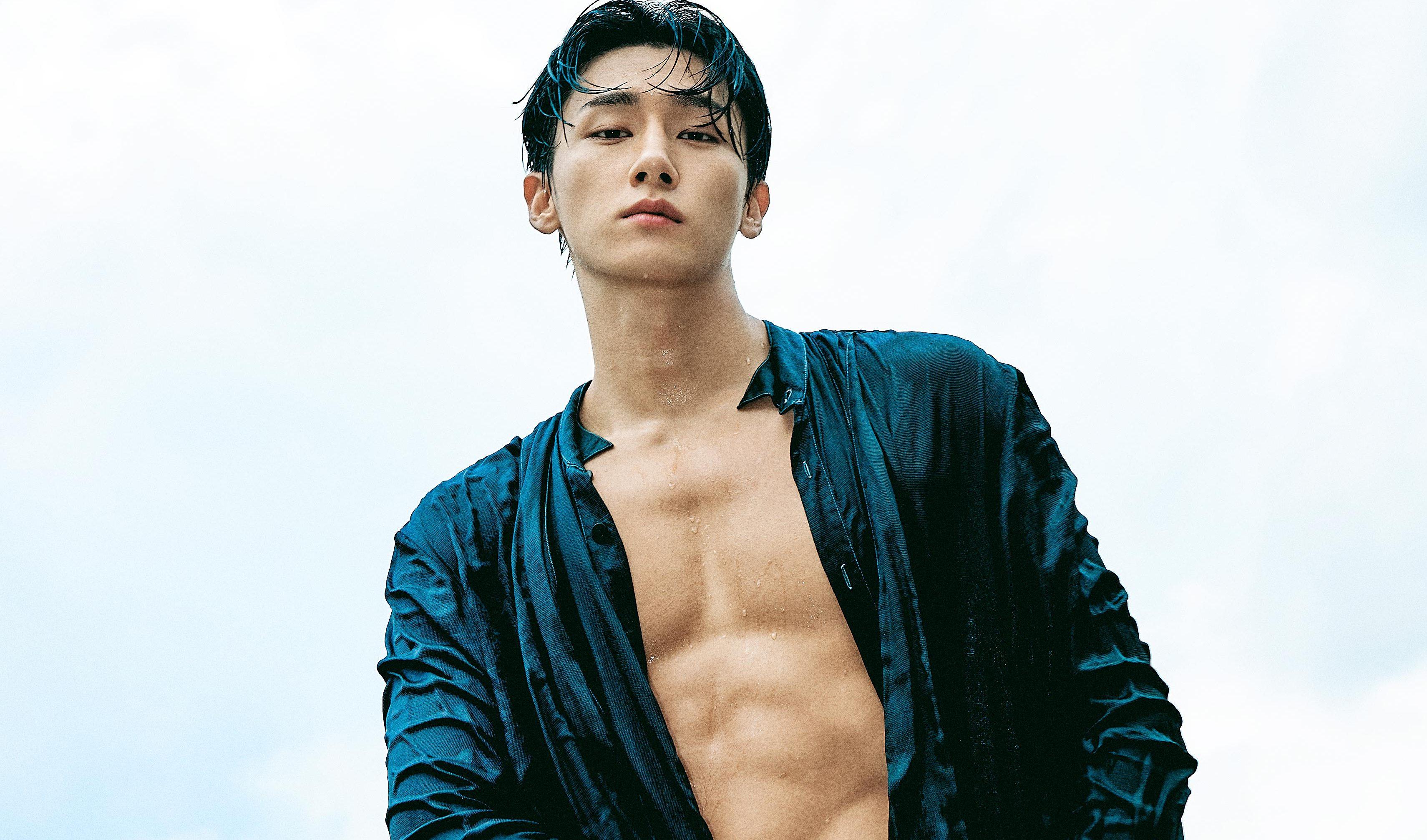 MONSTA X's I.M Flaunts His Lavish Charms In Dazed Korea Pictorial