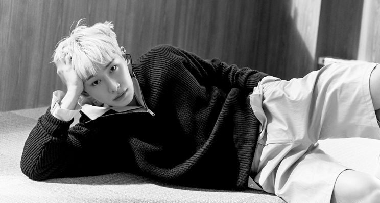 Wonho Mesmerizes In Monochrome In A Pictorial For BEAUTY+ Magazine