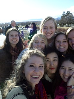 #sisters'selfie