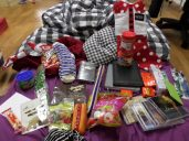 All my amazing presents. Spoiled!