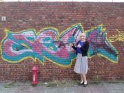 Graffiti-- I swear it says CTR~ SO you bet I support it