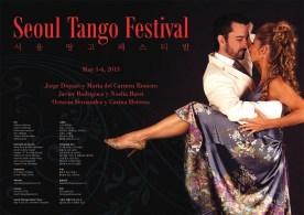 2013 Seoul Tango Festival Poster