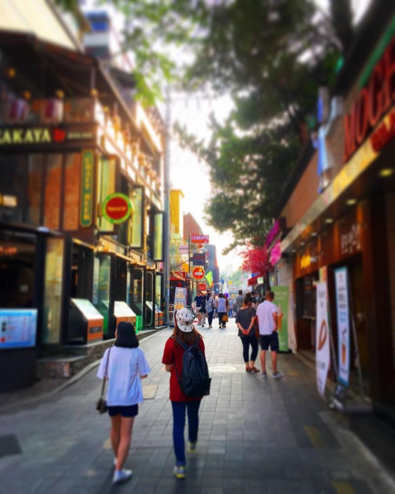 Itaewon alley