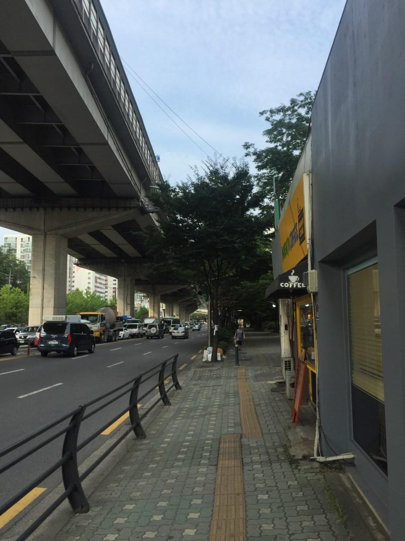 Back on Yeonhui-ro