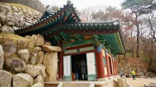 Seokguram, the place where the Buddha is in