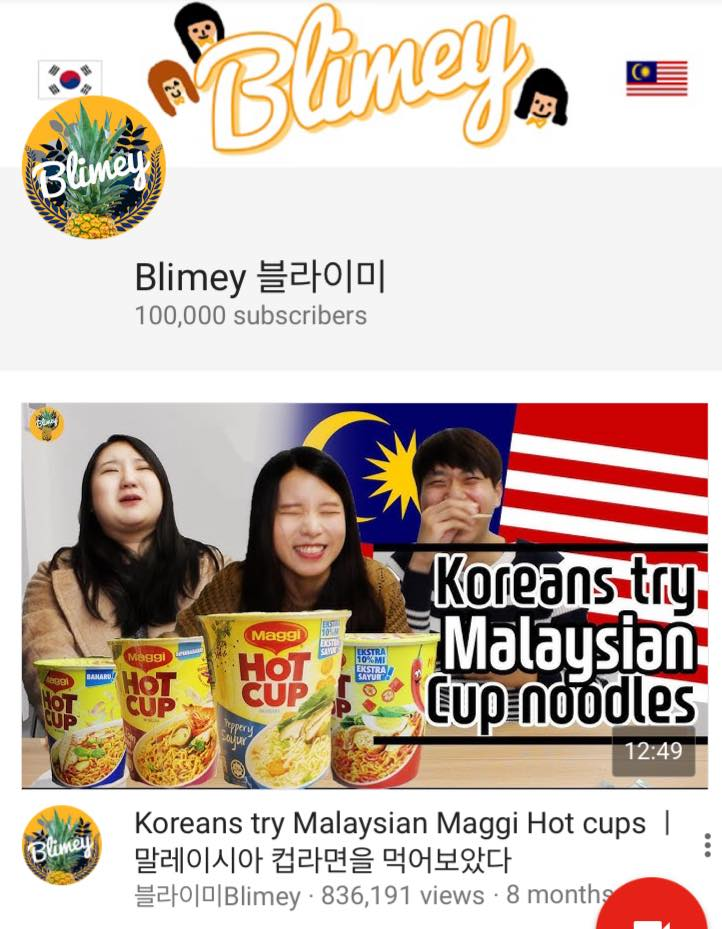 Blimey Channel on Malaysian Culture