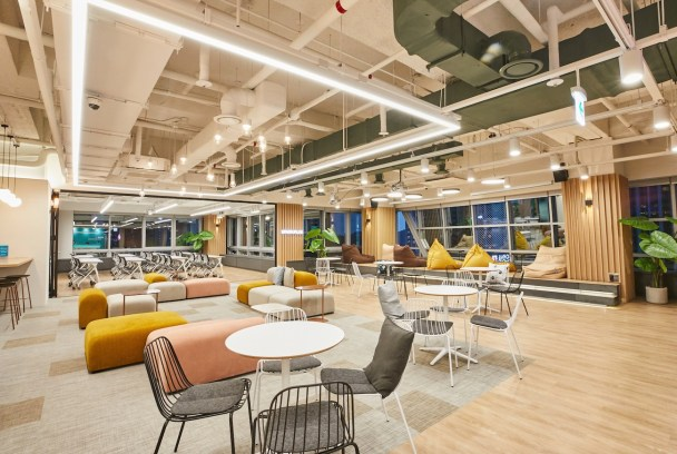 Coworking space in Seoul