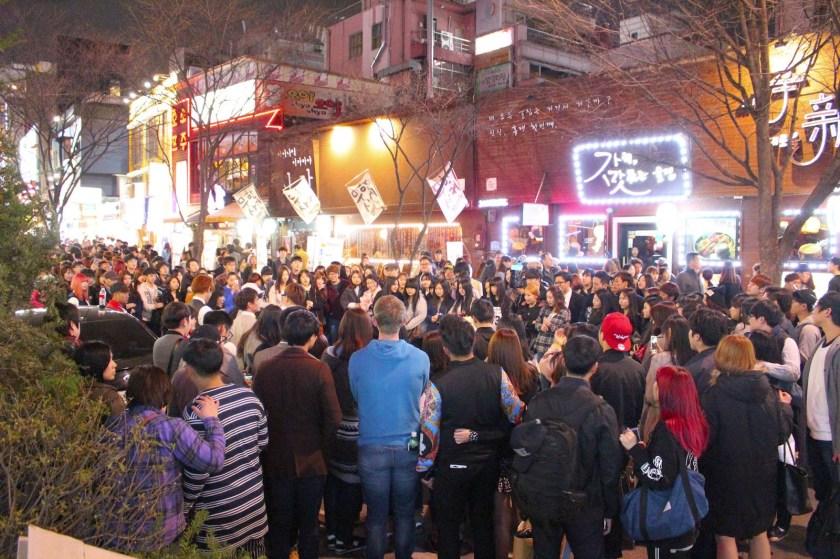 Places to Visit in Seoul Hongdae