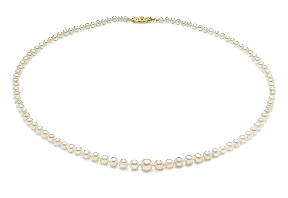 Mm 5 Cultured Necklace Pearl
