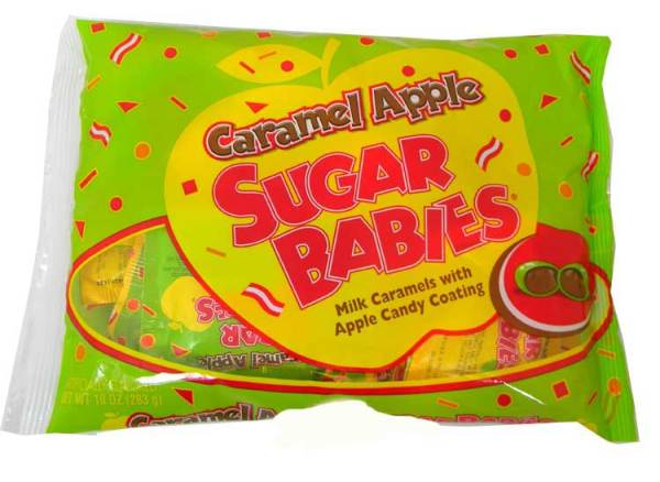Fun Size Caramel Apple Sugar Babies 14ct BlairCandycom