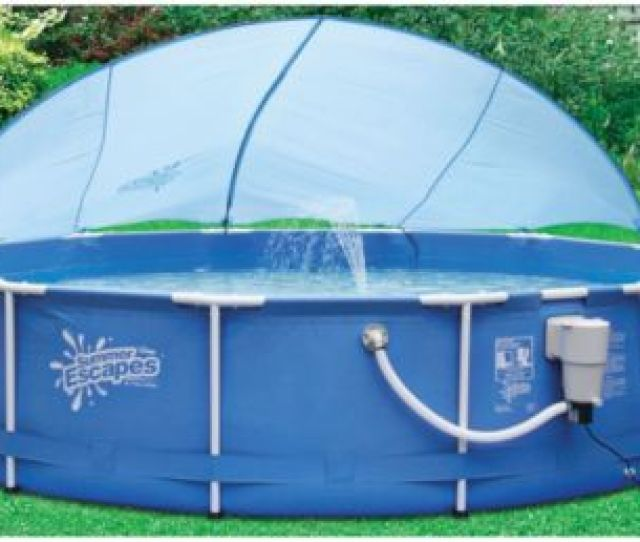 Above Ground Pool Canopy Shade
