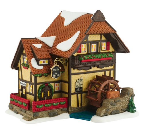 Department 56 Alpine Village Alpen Woolen Mill