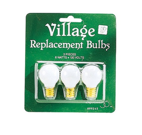 Department 56 Village Village Replacement Round Light