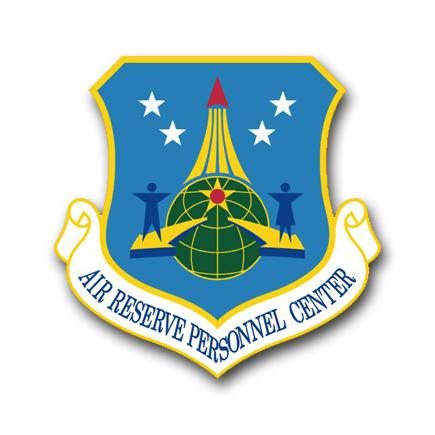 US Air Force Air Reserve Personnel Center Vinyl Transfer Decal
