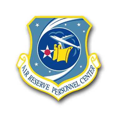 US Air Force Reserve Personnel Center Vinyl Transfer Decal