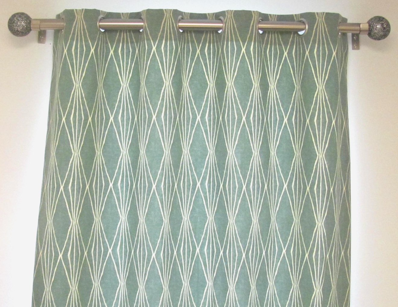 100 inch wide lined grommet top curtain panel s pair or single custom select