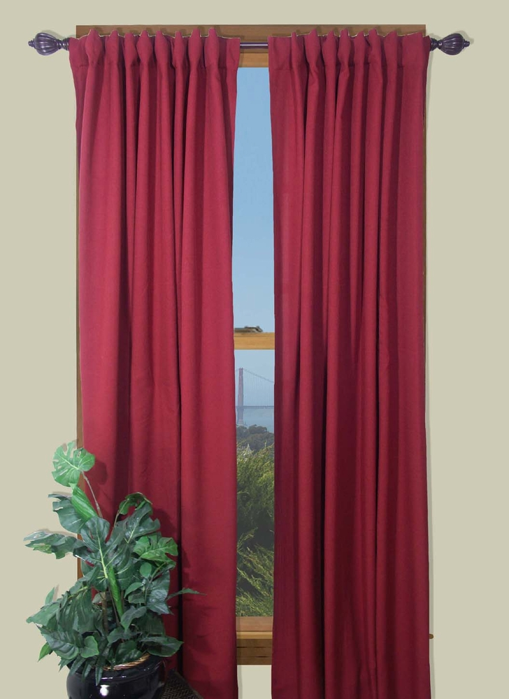 Glasgow Two Way Rod Pocket Back Tab Curtain Panel