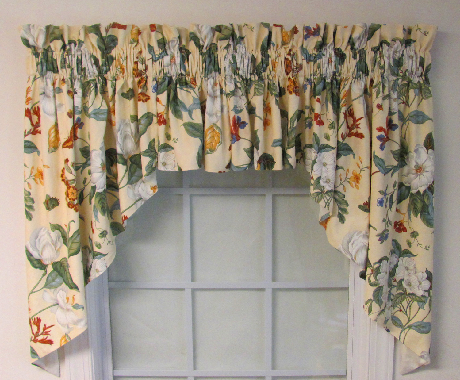 How To Sew A Lined Curtain Valance
