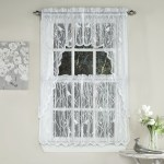 Songbird Sheer Kitchen Curtains