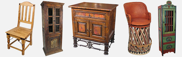mexican rustic furniture southwest