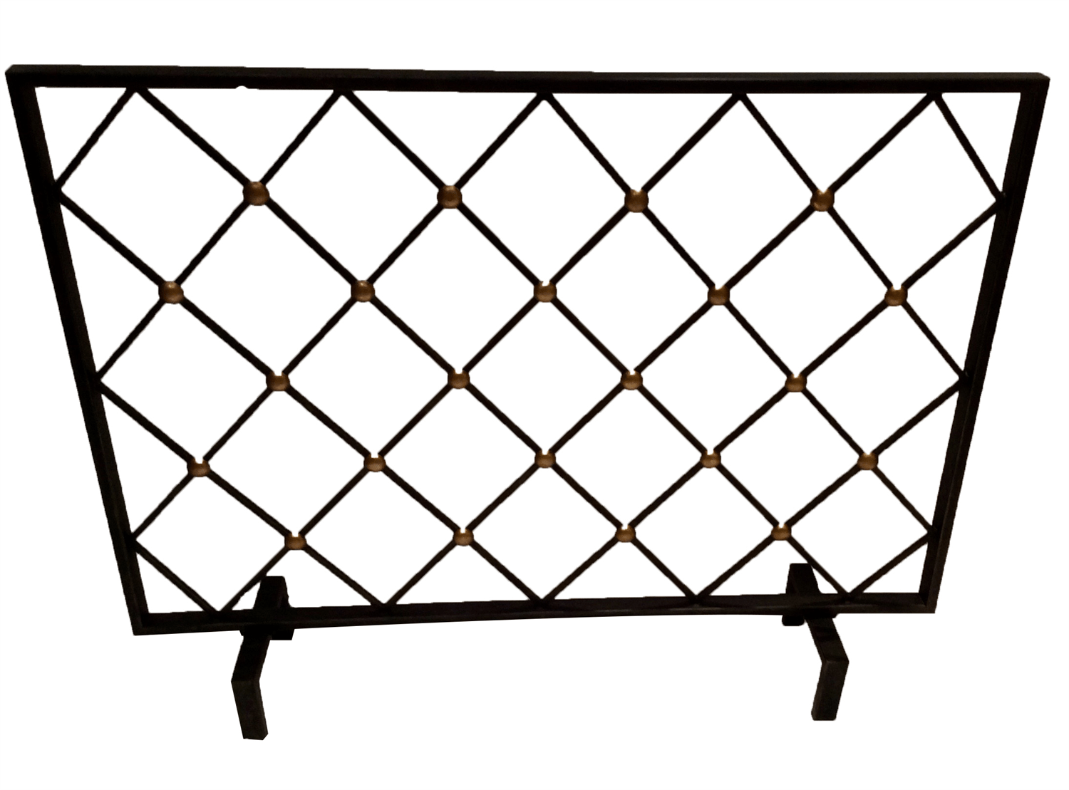 Dessau Home Bronze Button Firescreen