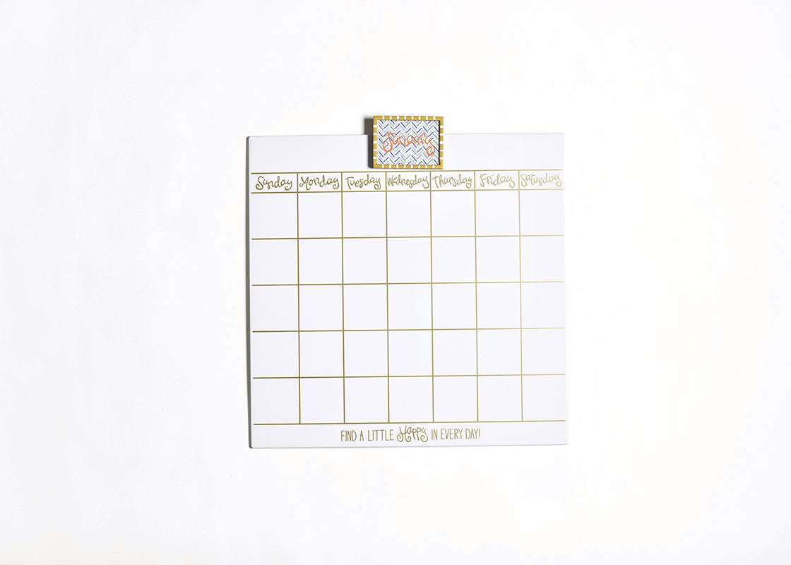 Happy Everything Magnetic Dry Erase 18 Wall Calendar With