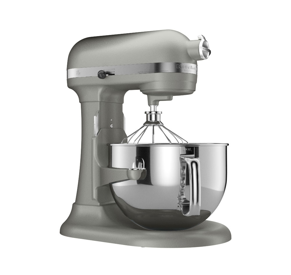 KitchenAid Stand Mixer Professional 600 6 Qt Nickel Pearl