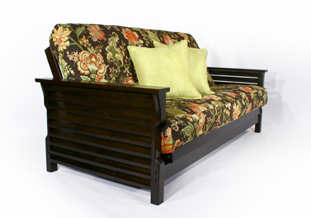 Modern Full Size Futon Frame Sofa Bed Living Room Classic
