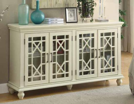 Contemporary Storage Cabinet Accent Cabinet With Two