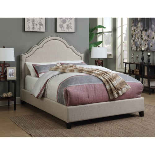 Modern Queen Size Upholstered Bed Bedroom Set Manassas VA
