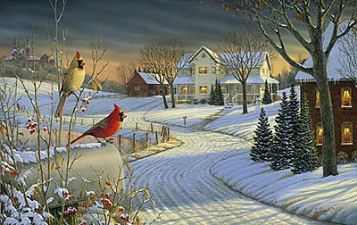 """Sam Timm Limited Edition Print:""""Country Afternoon ..."""