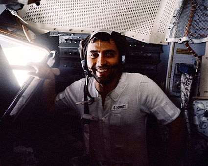 Apollo 17 Harrison Schmitt in Lunar Module Photo Print for ...