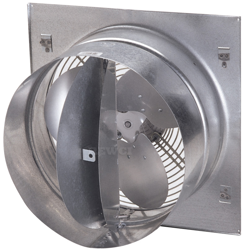 12 inch wall exhaust fan variable speed controllable