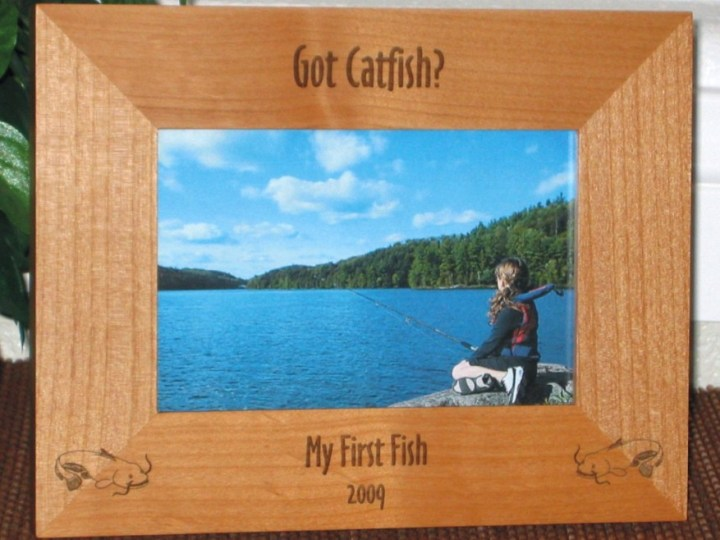 My First Fish Picture Frame | secondtofirst.com