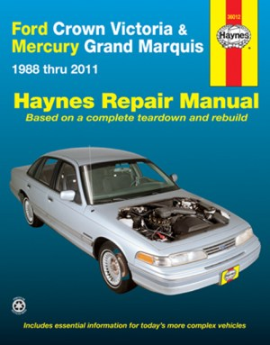 Ford Crown Victoria & Mercury Grand Marquis Haynes Repair
