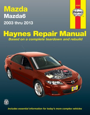 Mazda 6 Haynes Repair Manual (20032013)  HAY61043