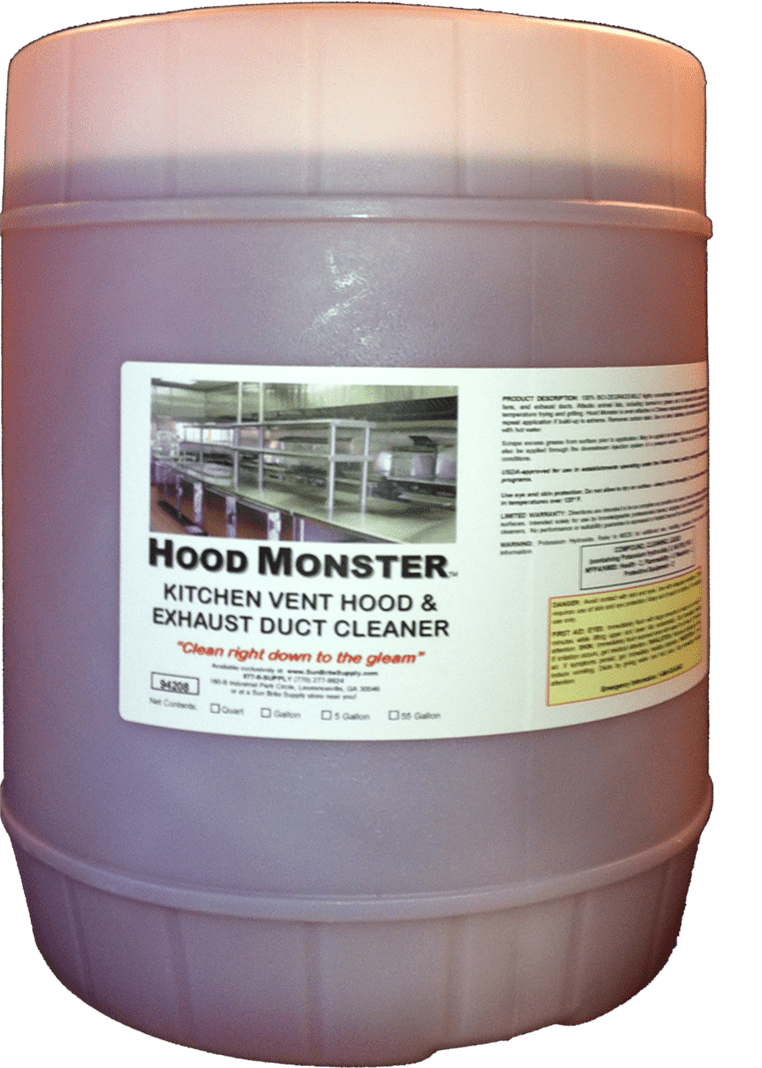 Best Kitchen Gallery: Hood Monster The Best Kitchen Exhaust Cleaning Chemical For Hood of Kitchen Hood Maintenance on rachelxblog.com