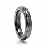 Ladies 4mm Timoku Ring Womans Timoku Wedding Band