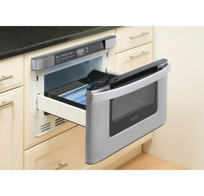 kb 6524psy sharp 24 easy open microwave drawer stainless steel