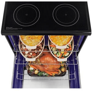 Ft Capacity Single Oven Electric Range With Infrared Grill And Easyclean Stainless Steel