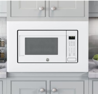 peb9159djww ge profile 22 1 5 cu ft countertop convection microwave oven with 1 000 watts and 10 power levels white