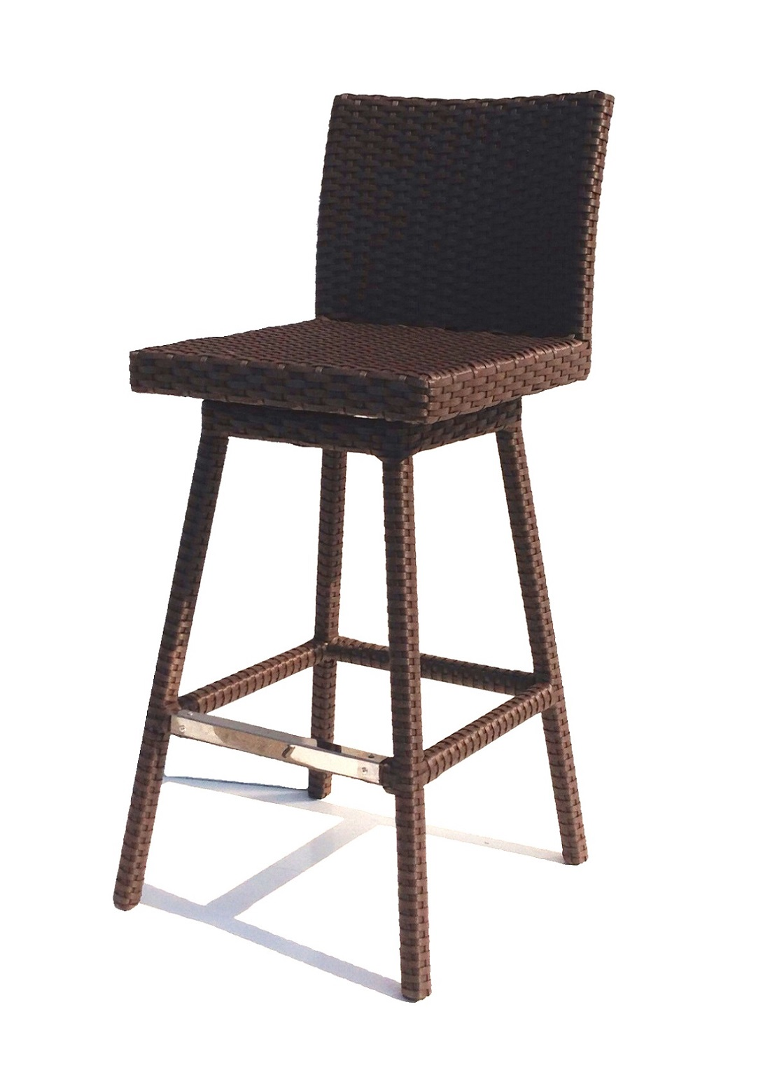 Outdoor Swivel Bar Stools With Arms Teak Swivel Bar Chair