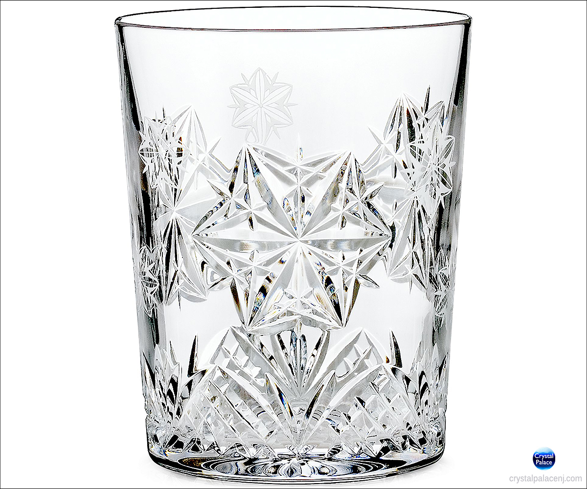 Waterford Snowflake Wishes Peace Mooncoin Dof Glass