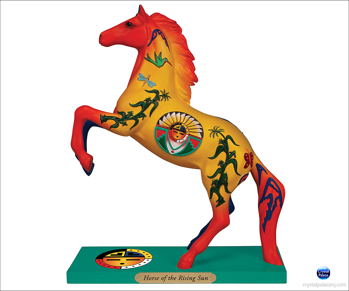 The Trail Of Painted Ponies Horse Of The Rising Sun